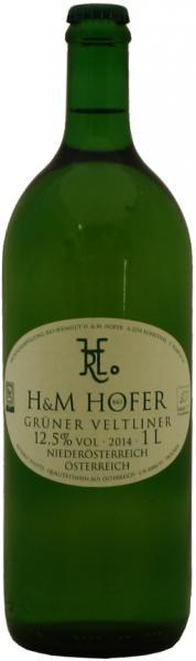 Weingut Hofer Grüner Veltliner Literflasche