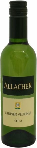 Kleine Weinflasche Grüner Veltliner