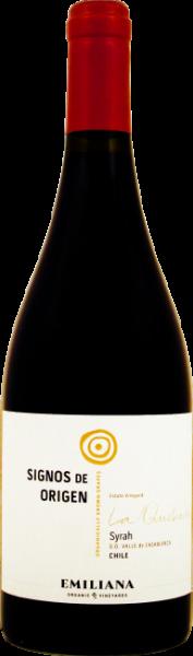 Syrah Rotwein aus Chile Emiliana