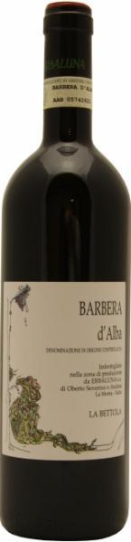 Bio Rotwein Barbera aus dem Piemont