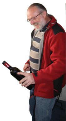 Manfred Rothe erzeugt Frankenwein