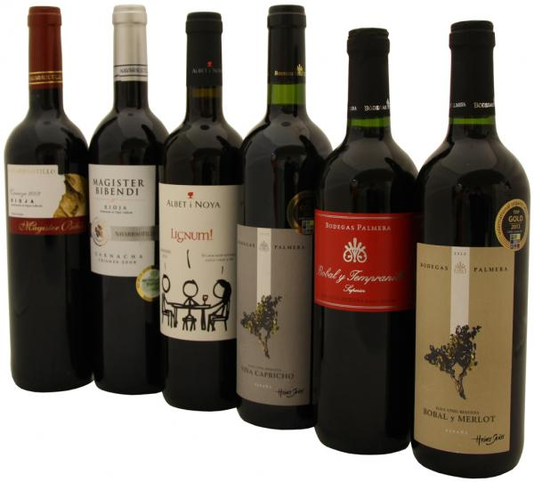 Rotweine aus Spanien