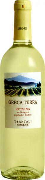 Retsina 'Greca Terra' Tsantali / Biowein Griechenland