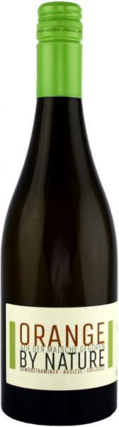 Orange-Wein Gewürztraminer