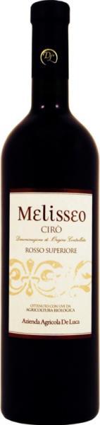 Rotwein Kalabrien Melisseo Ciro