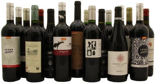 Das große Demeter Weinpaket / Rot-Weine aus Süd-Europa