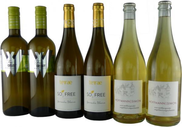 Weißwein ohne Schwefel - Zusatz