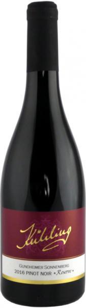 Pinot Noir Reserve, 2016/2018, Gundheimer Sonneberg, Weingut Kühling