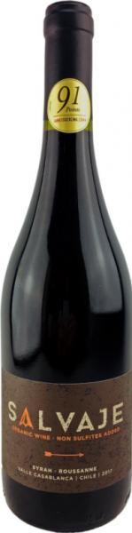 Salvaje Rotwein ohne Sulfite-Zusatz