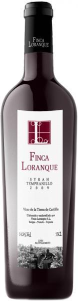 Finca Loranque, Syrah-Tempranillo, Barrique-Rotwein, 2015 Vina de la Tierra, La Mancha, Spanien