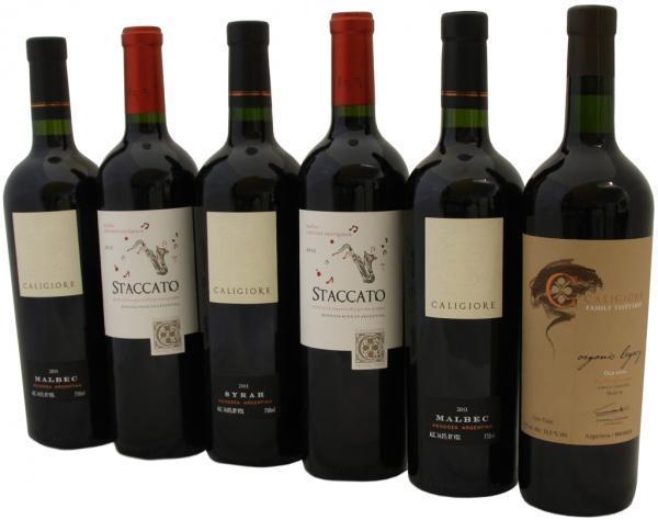 Caligiore Rotwein aus Argentinien
