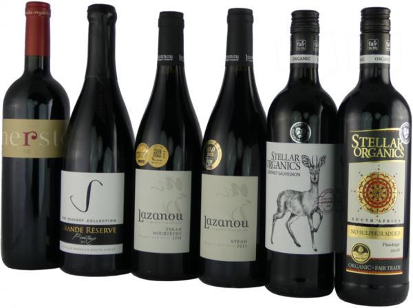Rotwein - Probierpaket Südafrika