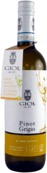 Weißwein ohne Schwefel - Zusatz Giol