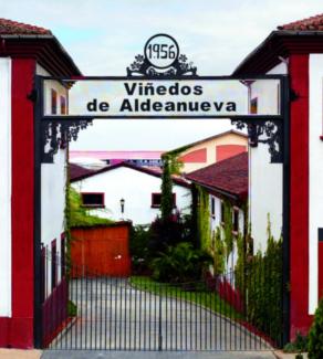 Azabache Weingut im Rioja stellt diesen Rioja Crianza her