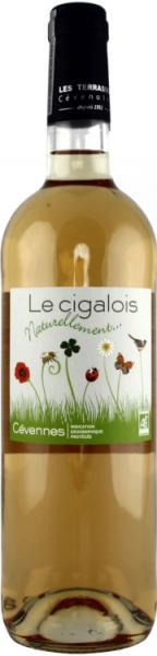 Erfrischender leicht herber Rosé-Wein