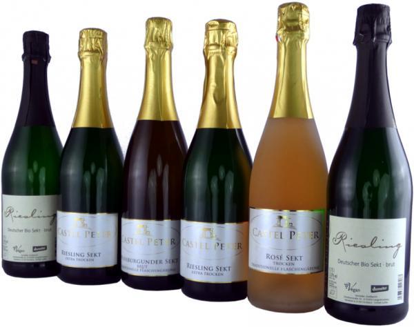 Weinprobierpaket deutsche Sekte